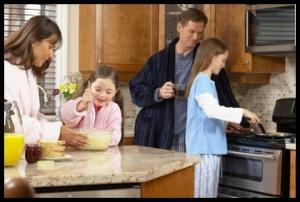 clayton family breakfast